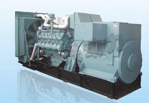 德国奔驰发电机组价格 西安海兴厂家供应德国奔驰柴油发电高清图片
